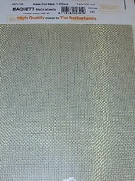 Maquett 1mm Square Mesh Brass Grating Mesh Metal Sheet 7.9x5.5