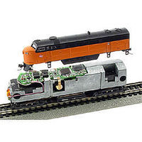 MRC DCC Decoder w/Sound - Snap-In - Fits Life-Like C-Liner Model Train Electrical Accessory #1660