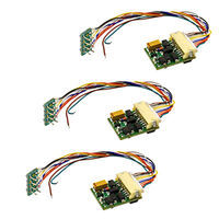 MRC DCC Control Decoder 3-Pack - Universal Model Train Electrical Accessory #1661