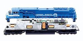 MRC DCC Dual Mode Sound & Control Decoder - Generic Diesel Model Train Electrical Accessory #1808