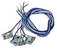 MRC LED White w/10 Lead 4/