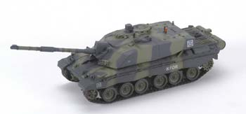MRC British Army Challenger II Easy Model Pre-Built Plastic Model Tank 1/72 Scale #35010