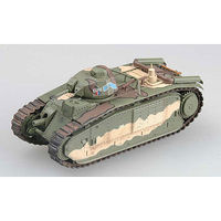 MRC Char B1 #337 May 1940 France 3e DCR Pre-Built Plastic Model Tank 1/72 Scale #36156