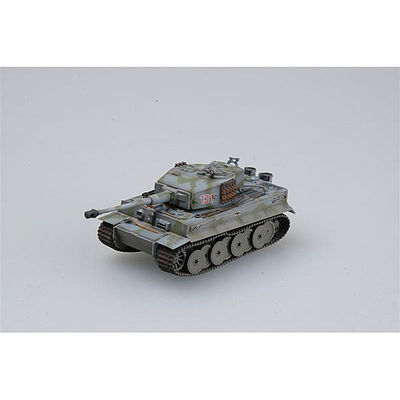 MRC Tiger 1 Mid sPzAbt 101 Normandy 1944 -- Pre-Built Plastic Model Tank -- 1/72 Scale -- #36216