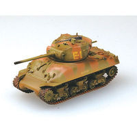 MRC M4A1 2nd Armored Division Middle Tank Pre-Built Plastic Model Tank 1/72 Scale #36248
