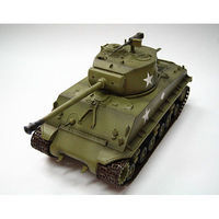 MRC US Army M4A Tank Pre-Built Plastic Model Tank 1/72 Scale #36257