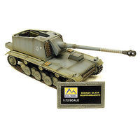 MRC German Selbstfahrlafette Pre-Built Plastic Model Tank 1/72 Scale #36263