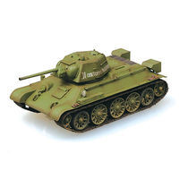 MRC T-34/76 Tank 1943 Autumn Pre-Built Plastic Model Tank 1/72 Scale #36267