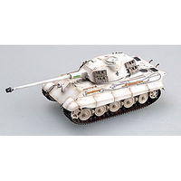 MRC King Tiger II Porsche Schwere PzAbt #314 Pre-Built Plastic Model Tank 1/72 Scale #36299