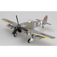 MRC Typhoon MK IB MP195 Sqd 193 1944 Pre-Built Plastic Model Airplane 1/72 Scale #36312