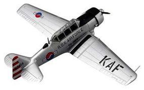 MRC US T-6 Texan Republic/Korea Pre-Built Plastic Model Airplane 1/72 Scale #36316