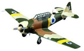 MRC US T-6 Texan Israeli Defense Force Pre-Built Plastic Model Airplane 1/72 Scale #36317