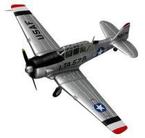MRC US T-6 Texan 6147 TCS/Korean 53 Pre-Built Plastic Model Airplane 1/72 Scale #36319
