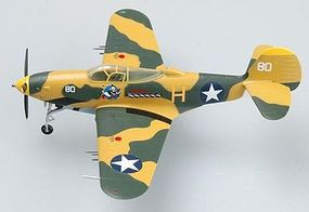 MRC P39Q 41st FS, 35th FG, 5th AF Milne Bay Pre-Built Plastic Model Airplane 1/72 Scale #36324