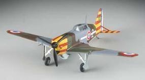 MRC MS406 Vichy AF 2 Escadrille Pre-Built Plastic Model Airplane 1/72 Scale #36329