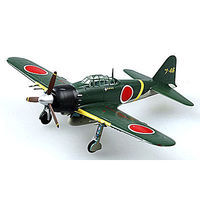 MRC Zero A6M5C Naval Air Group Oita Japan WWII Pre-Built Plastic Model Airplane 1/72 #36352