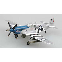 MRC P-51B Mustang Patty Ann II Lt. Thornell - Pre-Built Plastic Model Airplane 1/72 Scale #3635