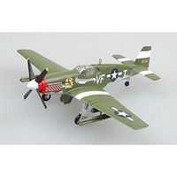 MRC P51B/C 336th FS/4th FG WWII Pre-Built Plastic Model Airplane 1/72 Scale #36359