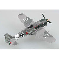 MRC FW190A-8 RED 8 Willie Maximowitz Pre-Built Plastic Model Airplane 1/72 Scale #36364