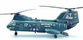 MRC CH46D Sea Knight ET17 Flying Tigers USMC Pre-Built Plastic Model Helicopter 1/72 #37002