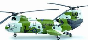 MRC CH46F Sea Knight Too Cool USMC Helicopter Pre-Built Plastic Model Helicopter 1/72 #37003