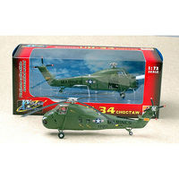 MRC H34 Choctaw Heli UH34D #150219 YP-20 Pre-Built Plastic Model Helicopter 1/72 Scale #37010