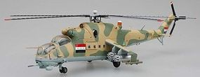 MRC Mi24 Hind IAF No.119 Helicopter 1984 Pre-Built Plastic Model Helicopter 1/72 Scale #37039
