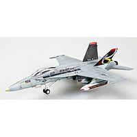 MRC F/A18C Hornet USN VFA137 NE402 Pre-Built Plastic Model Airplane 1/72 Scale #37115