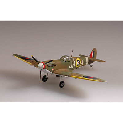 MRC Spitfire Mk.V RAF 317 SQN 1941 Pre-Built Plastic Model Airplane 1/72 Scale #37213