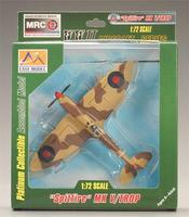 MRC Spitfire RAF 224th Wing Comm 1943 Pre-Built Plastic Model Airplane 1/72 Scale #37217