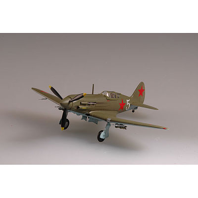 MRC MiG3 Porkryshkin WWII (Built-Up Plastic) Pre-Built Plastic Model Airplane 1/72 Scale #37225