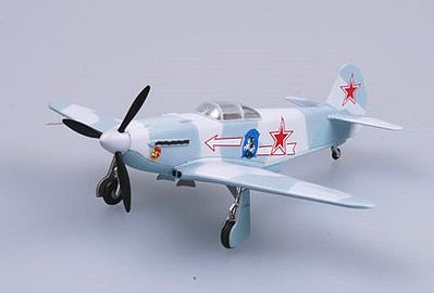 MRC Yak3 303rd FA Div WWII (Built-Up Plastic) Pre-Built Plastic Model Airplane 1/72 #37226