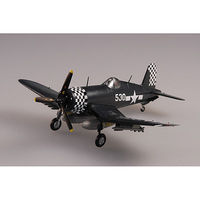 F4U1D Corsair VMF312 Okinawa WWII Pre-Built Plastic Model Airplane 1/72 Scale #37233