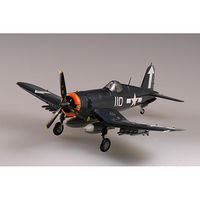 MRC F4U1 Corsair VF84 USS Bunker Hill WWII Pre-Built Plastic Model Airplane 1/72 Scale #37234