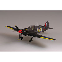 MRC Hurricane Mk.II 87 SQN Squad Leader Pre-Built Plastic Model Airplane 1/72 Scale #37245