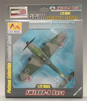 MRC FW190D-9 Dora IV./JG2 1945 Pre-Built Plastic Model Airplane 1/72 Scale #37264