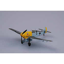MRC Bf109E3 1/JG52 WWII (Built-Up Plastic) Pre-Built Plastic Model Airplane 1/72 Scale #37284