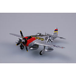 MRC P47D 531st FS/406th FG WWII (Built-Up Plastic) Pre-Built Plastic Model Airplane 1/72 #37286