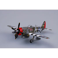 P47D 61st FS/56th FG WWII (Built-Up Plastic) Pre-Built Plastic Model Airplane 1/72 #37288