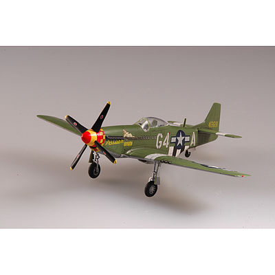 MRC P-51D Mustang 362F 357FG 1944 -- Pre-Built Plastic Model Airplane -- 1/72 Scale -- #37294