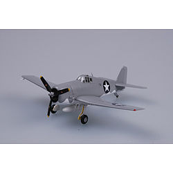 MRC F6F VF4 WWII (Built-Up Plastic) Pre-Built Plastic Model Airplane 1/72 Scale #37296