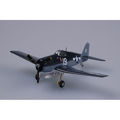 MRC F6F VF6 USS Intrepid WWII (Built-Up Plastic) -- Pre-Built Plastic Model Airplane -- 1/72 -- #37298