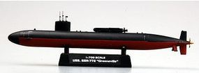 MRC USS Greenville SSN772 Submarine Pre-Built Plastic Model Submarine 1/700 Scale #37307