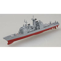MRC USS CG-47 Ticonderoga Pre-Built Plastic Model Cruiser 1/1250 Scale #37401