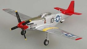 MRC P51D Tuskegee WWII (Built-Up Plastic) Pre-Built Plastic Model Airplane 1/72 Scale #39201