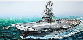 MRC USS Intrepid Angled Deck Plastic Model Aircraft Carrier Kit 1/350 Scale #64008