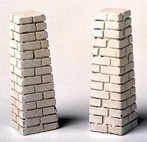 Railstuff Stone Footings for Viaduct Tower Model Train Building Accessory HO Scale #1400