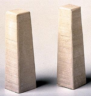 Model Railstuff Concrete Footings for Viaduct Tower -- Model Train Building Accessory -- HO Scale -- #1410