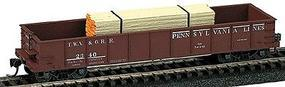 Railstuff Banded Lumber Stack Orange Ends (2) Model Train Freight Car HO Scale #143