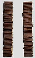 Railstuff Pulpwood Loads For Micro Trains Bulkhead Flat Car Model Train Freight Car N Scale #1571